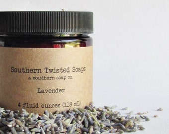 Lavender Body Lotion - Essential Oil