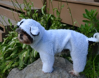 Little Bo Peep's Lost Sheep Halloween Pet/Dog Costume size small, medium, large