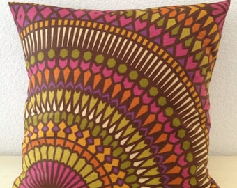 2 Pillow Covers 18x18inch-Free USShipping - Multi-color Richloom Home Decor Fabric