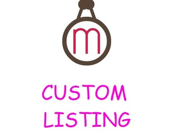 Custom Listing for Gifty Ofori
