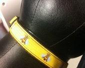 Honey bee adjustable collar or martingale