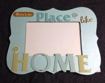Handmade embellished frame
