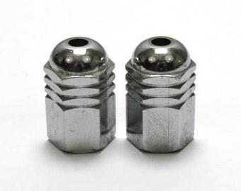 Pulls - French Pulls - Blind Pulls/Light Pulls - Chrome Pulls French Art Deco - two blind pulls  (4529)