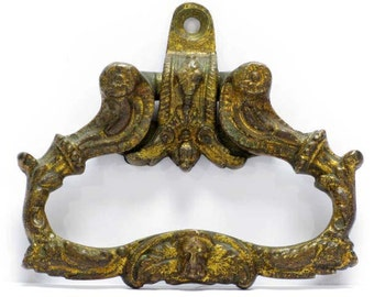 Ormolu Door Handle, French Door Handle, Brass Door Handle, Cabinet Handle, Drawer Handle, (136)