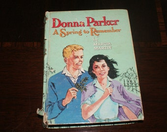 Vintage Book Donna Parker A Spring to Remember