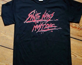 T-Shirt  »Synth Nazis Must Die«