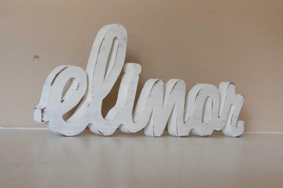 Baby Name Custom Nursery Decor- Wood Letters