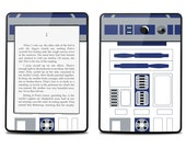 Amazon Kindle Paperwhite Skin Cover - R2D2 - Kindle Cover, Kindle Paperwhite Cover