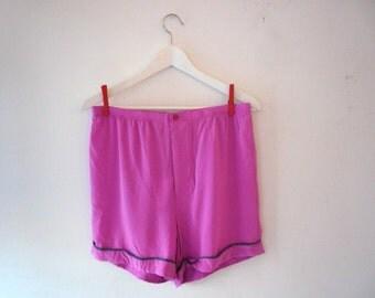 Marni Fuschia Pink Silk Shorts s / m