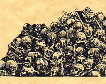 Catacombs  Rubber Stamp