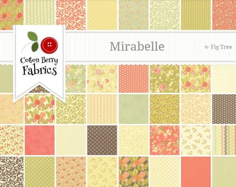 Mirabelle Charm Pack by Fig Tree & Co. for Moda - One Charm Pack - 20220PP