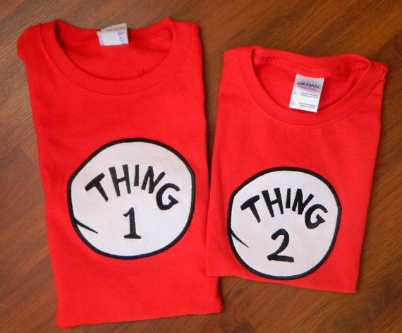 You searched for: thing 1 and thing 2 shirts toddler! Etsy is the home to thousands of handmade, vintage, and one-of-a-kind products and gifts related to your search. No matter what you're looking for or where you are in the world, our global marketplace of sellers can help you find unique and affordable options. Let's get started!