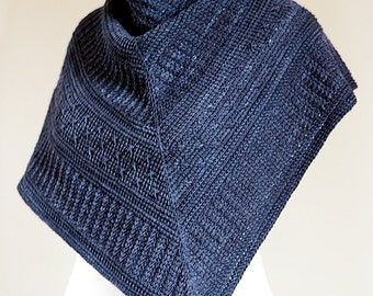 TUNISIAN CROCHET PATTERN: Winter Nocturne Shawl pdf
