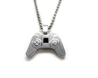 Game Controller Pendant Necklace