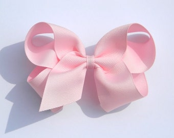Light Pink Large Hair Bow