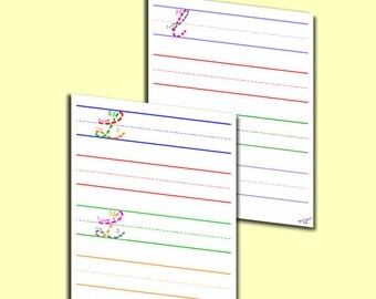 Cursive L worksheet - Capital Cursive L, Lowercase Cursive L
