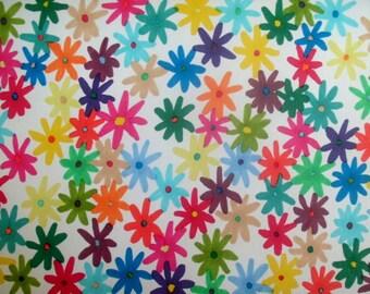 Multi-colour, multi-bloom flowers POSTCARD