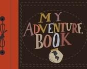 my adventure book.. pixar up.. digital download