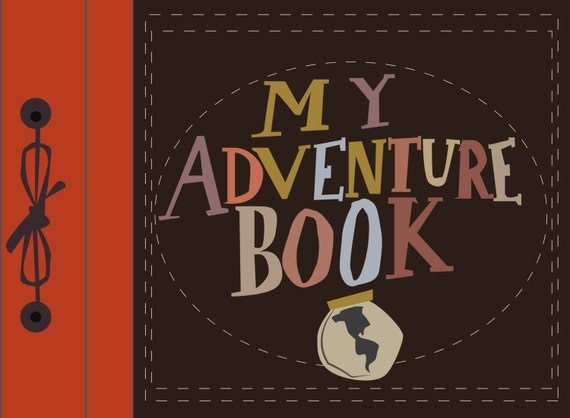 Our Adventure Book Cover Diy : Mon livre d aventure pixar up téléchargement