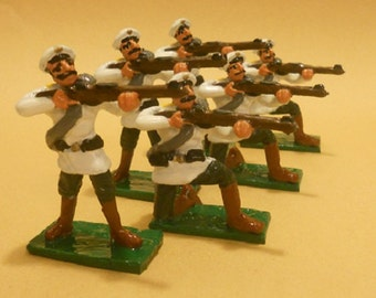 Russian Infantry of Boxer Rebellion Toy Soldiers 54mm