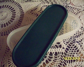 Vintage Tupperware Oval Storage Container
