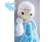Crochet Doll - Frozen Inspired - Princess Elsa Inspired - Special Edition