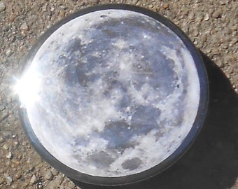 "Moon 1.25"" Pinback Button"