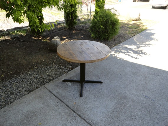 CUSTOM 52 Inch Round Pedestal Table And 16w X 60l X 33h