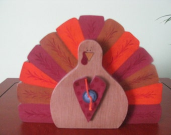 Turkey, Thanksgiving, Decoration, Fall, shelf sitter, primitive, fall decor