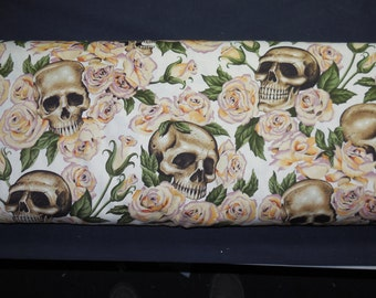 ARRR Resting in Roses - Nicole's Prints Alexander Henry Fabric 1 Yard