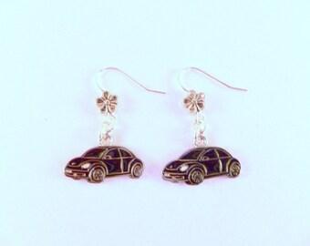 VW Beetle 2nd Generation Earrings