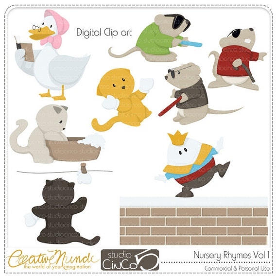 free clipart images nursery rhymes - photo #40
