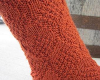 Pine Cone Sock Pattern - Phat Fiber