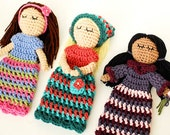 Crochet Pattern - Customizable Doll With Lots of Extras - Instant Download  PDF
