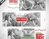 Christmas Facebook Timeline Covers - Set of 3 Christmas Timeline Cover Images