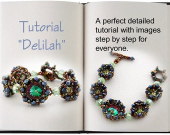 Jewelry Tutorial.... Delilah... Bracelet