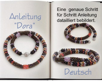 Jewelry Tutorial.... Dora... Halskette Anleitung in Deutsch