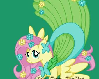 Fancy Fluttershy ACEO Print
