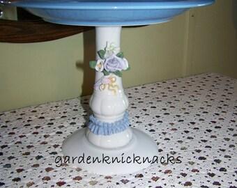 Lavender Rose Cake Stand