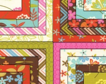 "Wrens & Friends Charm Pack Moda Fabrics 42 - 5"" Fabric Quilt Squares Kit New"