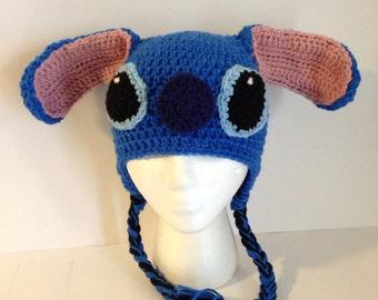 Stitch inspired hat