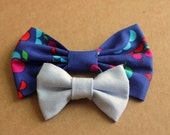 DIY hair bow sewing pattern, 2 sizes, women and girls