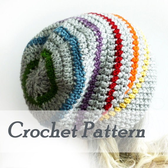 how to crochet a beanie instructions