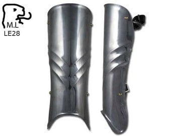New armor legs greave in stainless steel LE28