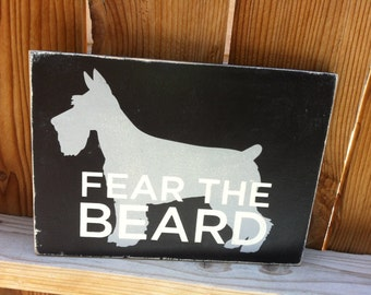 12x16 Fear the Beard