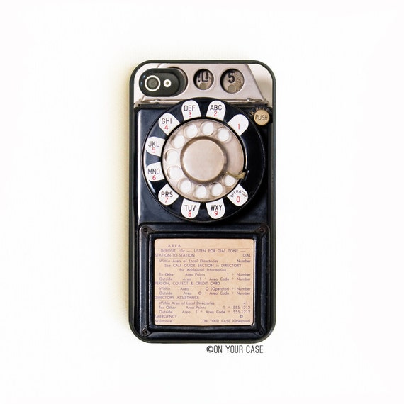 iPhone 4Case. iPhone 4S Case. Retro Vintage Payphone. iPhone 4S Cases. Phone Case. iPhone Case. Payphone Phone Case.