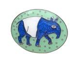 Glitter Tapir Brooch