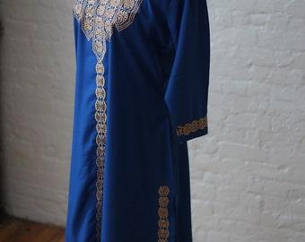 Long sleeve dashiki etsy for Dress shirt monogram placement