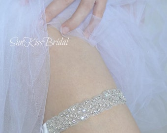 BRIANNA Crystal Bridal Garter