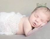 Newborn crown-Royal Baby Photography Props Prince Posing Props silver newborn photography props baby crown